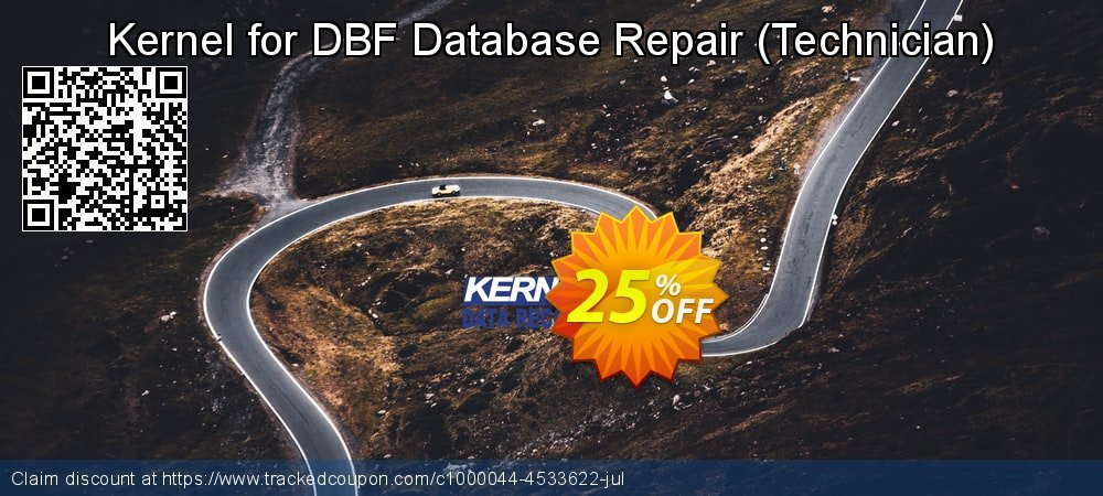 Kernel for DBF Database Repair - Technician  coupon on Super bowl discounts
