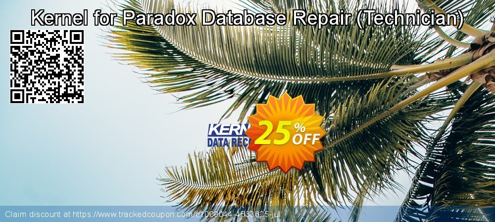 Get 20% OFF Kernel Recovery for Paradox - Technician License offering sales