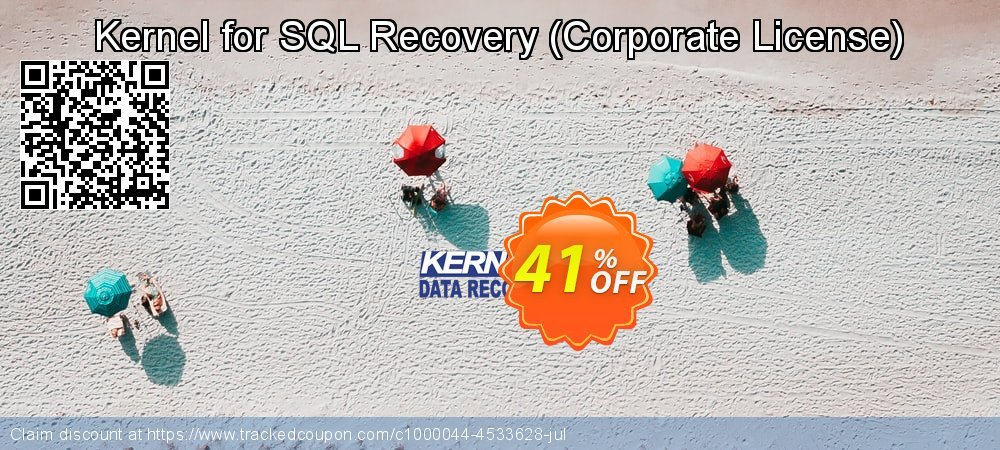 Kernel for SQL Recovery - Corporate License  coupon on Valentines Day offering discount