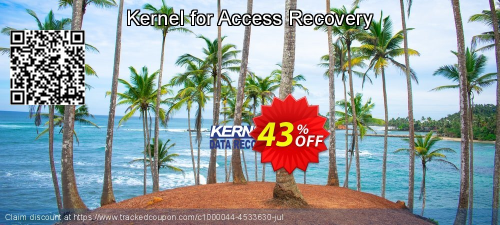 Kernel for Access Database Repair coupon on Halloween offering sales