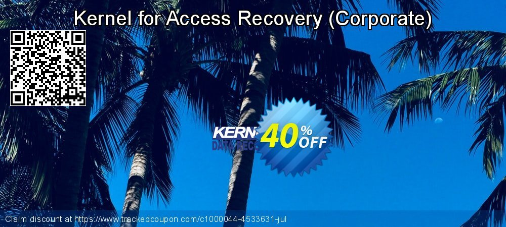 Kernel for Access Database Repair - Corporate  coupon on Halloween super sale