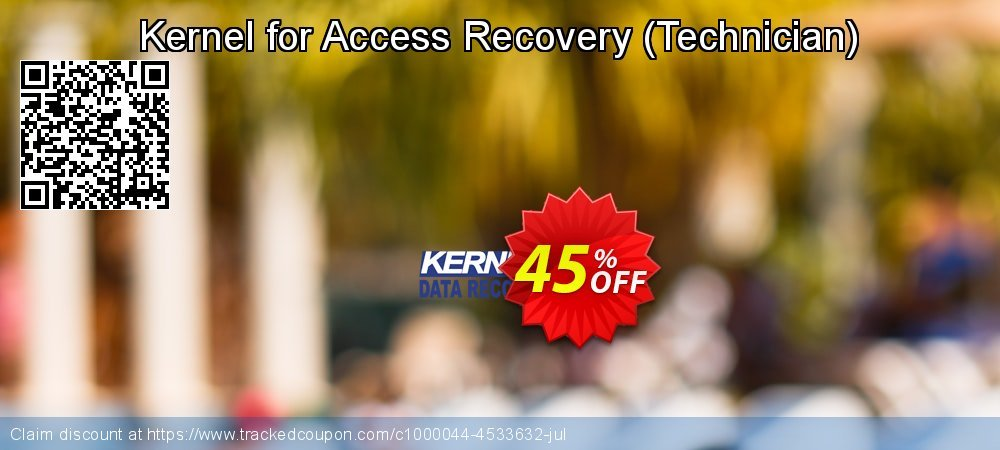 Kernel Recovery for Access - Technician License coupon on Father's Day discount