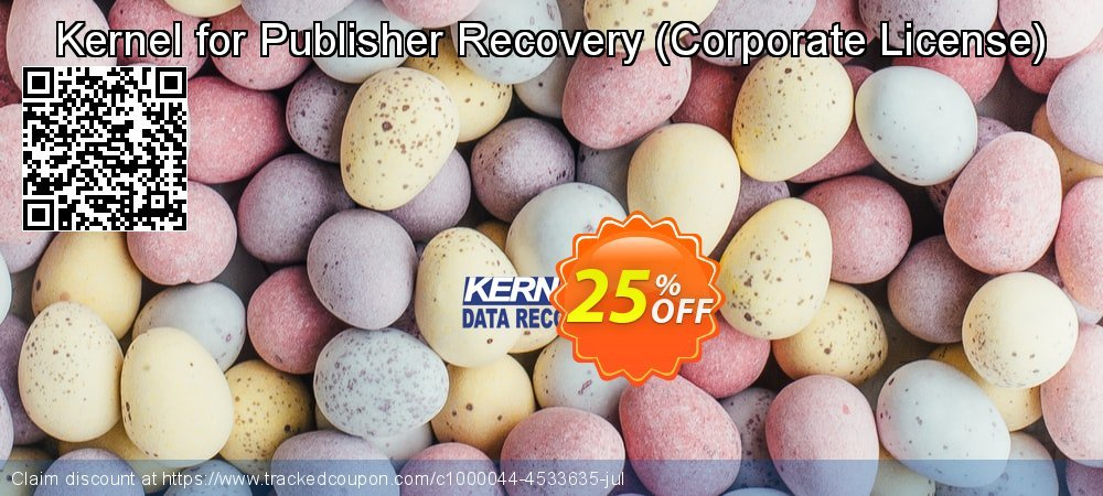 Kernel for Publisher Recovery - Corporate License  coupon on Valentine Week offer