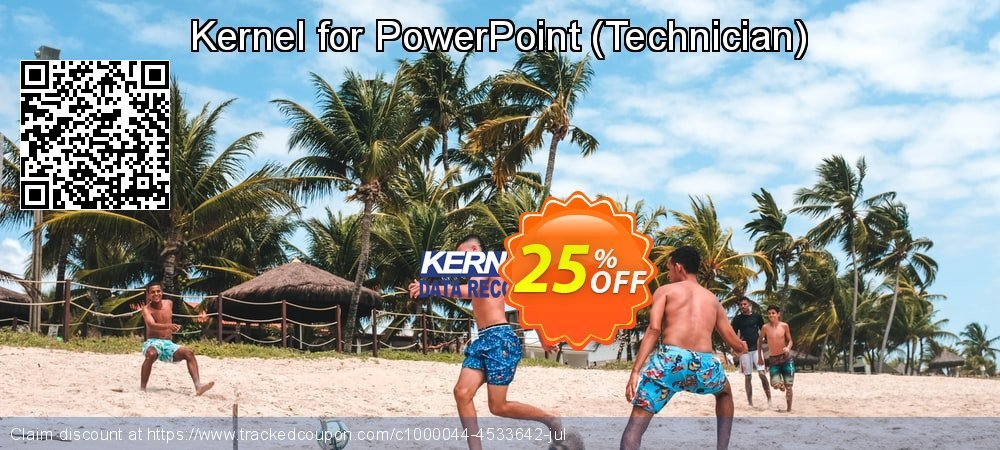 Kernel for PowerPoint - Technician  coupon on Super bowl sales