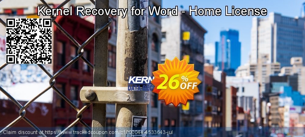 Kernel Recovery for Word - Home License coupon on Valentines Day deals