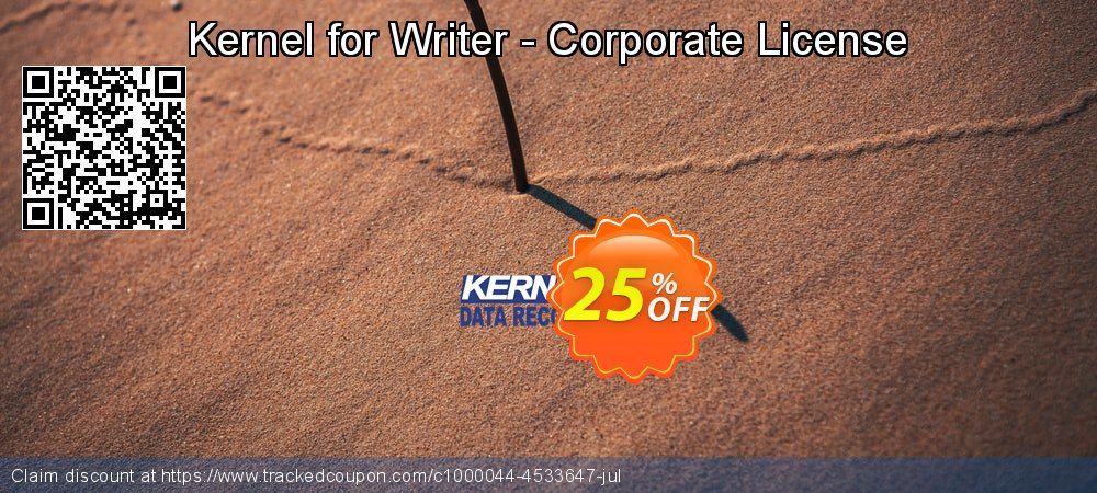 Kernel for Writer - Corporate License coupon on Natl. Doctors' Day super sale