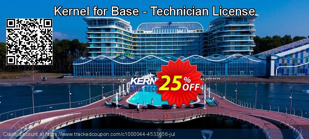 Kernel for Base - Technician License coupon on Natl. Doctors' Day super sale
