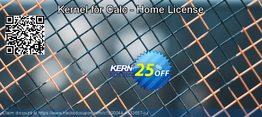 Kernel for Calc - Home License coupon on Int'l. Women's Day discounts