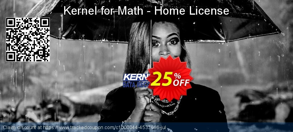 Kernel for Math - Home License coupon on Back to School offer offering discount