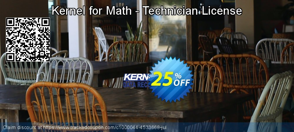Get 20% OFF Kernel for Math - Technician License sales