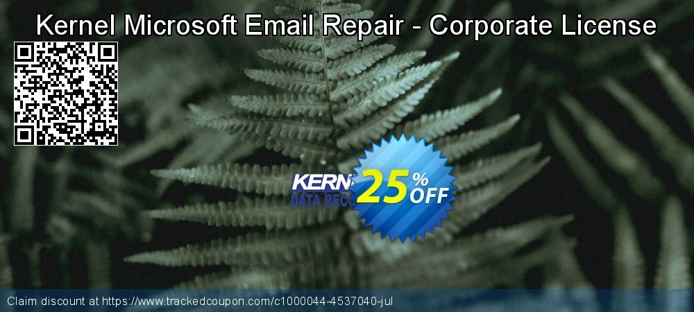 Kernel Microsoft Email Repair - Corporate License coupon on Father's Day sales