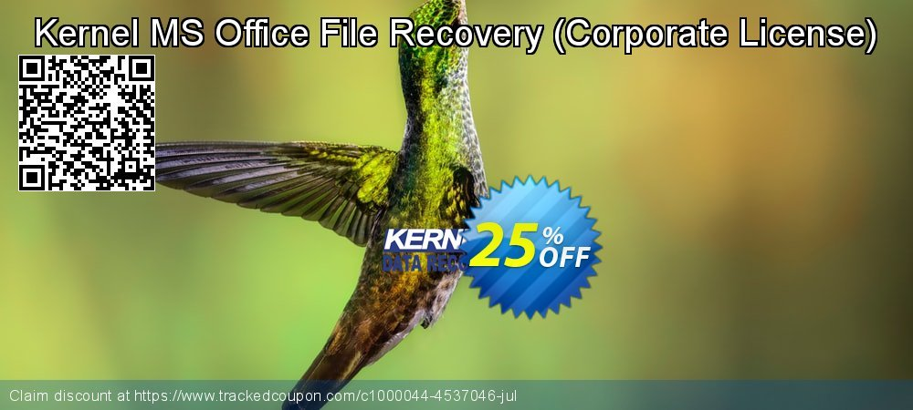 Kernel MS Office File Recovery - Corporate License  coupon on Halloween deals