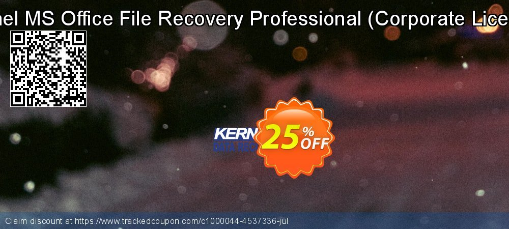 Kernel MS Office File Recovery Professional - Corporate License  coupon on Halloween discount