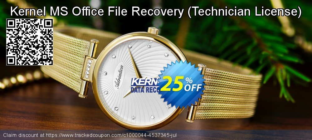 Kernel MS Office File Recovery - Technician License  coupon on Halloween discount