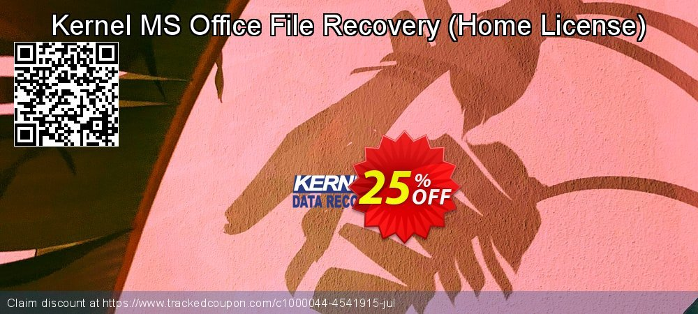 Kernel MS Office File Recovery - Home License  coupon on Halloween deals