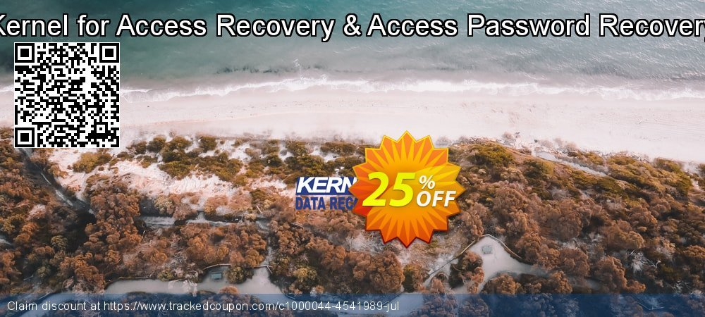 Kernel Recovery for Access & Access Password - Home License coupon on Halloween discount