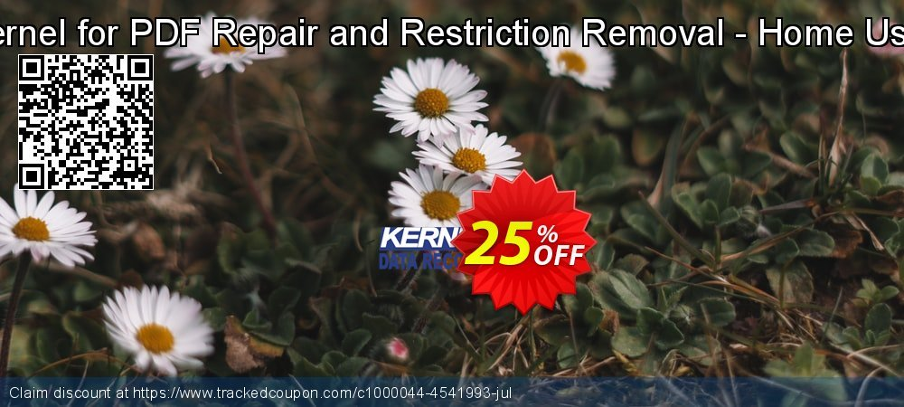 Kernel for PDF Repair and Restriction Removal - Home User coupon on Halloween discounts