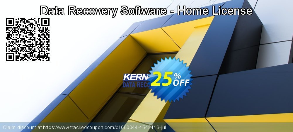 Data Recovery Software - Home License coupon on Int. Workers' Day promotions