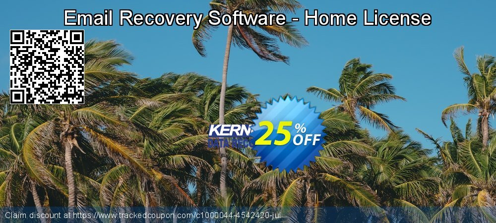 Email Recovery Software - Home License coupon on Halloween offer