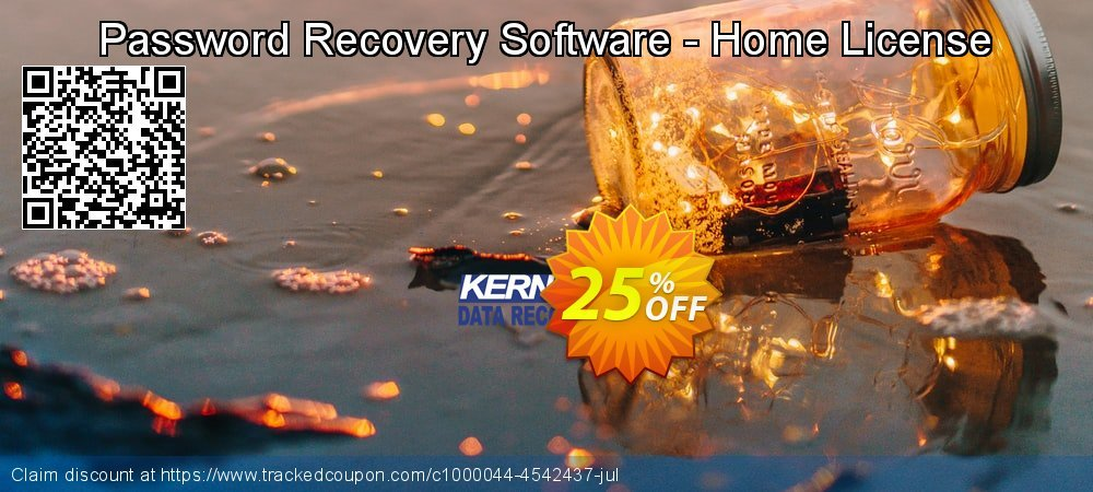 Get 10% OFF Password Recovery Software - Home License offering sales