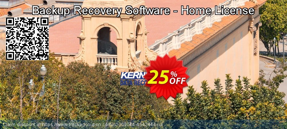 Backup Recovery Software - Home License coupon on Mid-year offering discount