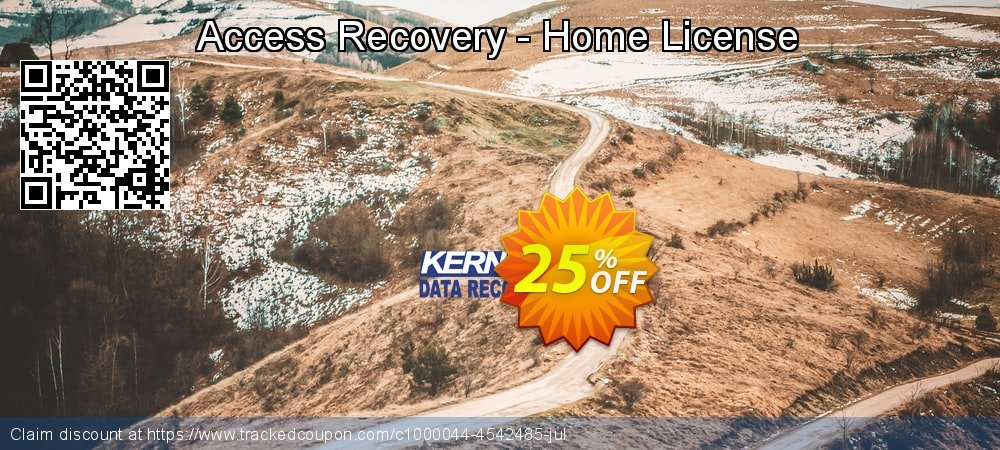Get 10% OFF Access Recovery - Home License promotions
