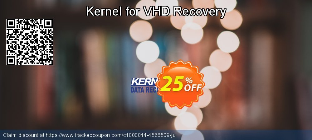 Kernel for VHD Recovery coupon on Halloween discounts