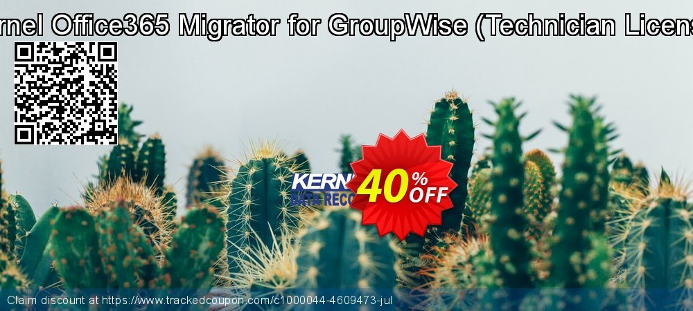 Kernel Office365 Migrator for GroupWise - Technician License coupon on Halloween offering sales