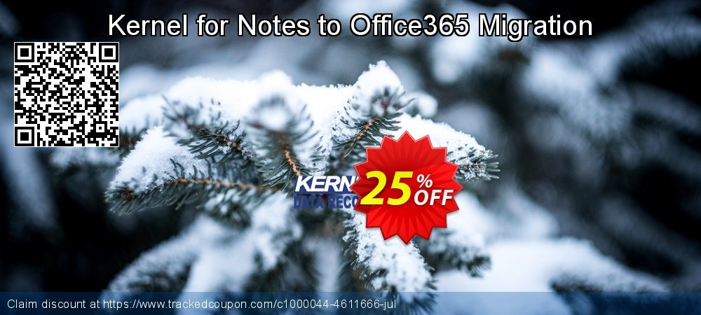Kernel for Notes to Office365 Migration coupon on Halloween offer