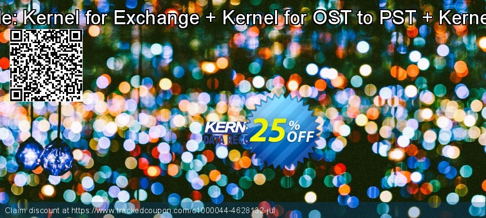 Kernel Bundle - - Kernel for Exchange + Kernel for OST to PST + Kernel for Outlook  coupon on Back to School promotions super sale