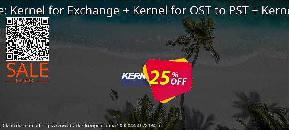 Kernel Bundle: Kernel for Exchange + Kernel for OST to PST + Kernel for Outlook coupon on Wildlife month promotions