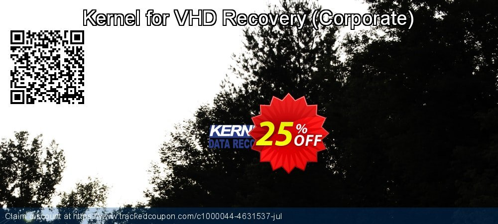 Kernel for VHD Recovery - Corporate  coupon on Halloween deals