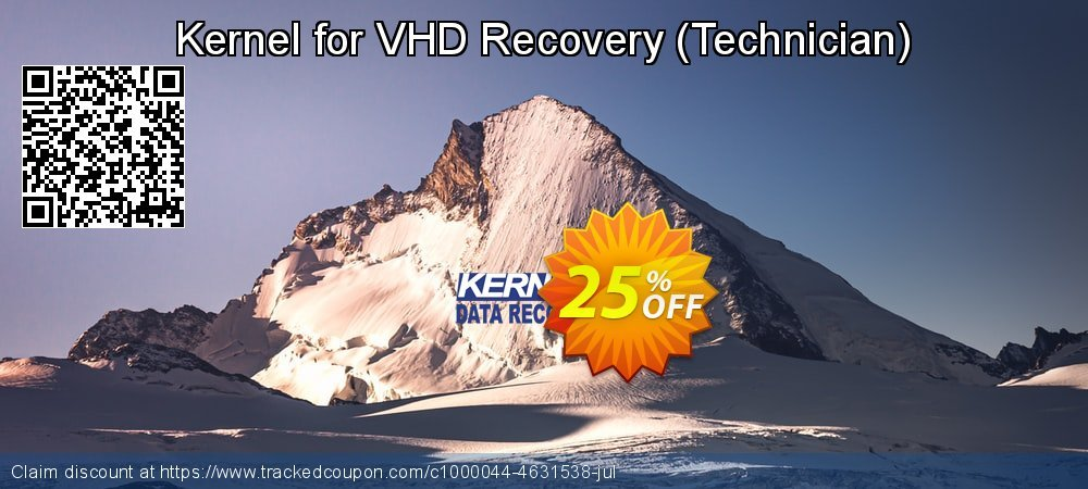 Kernel for VHD Recovery - Technician  coupon on Halloween offer