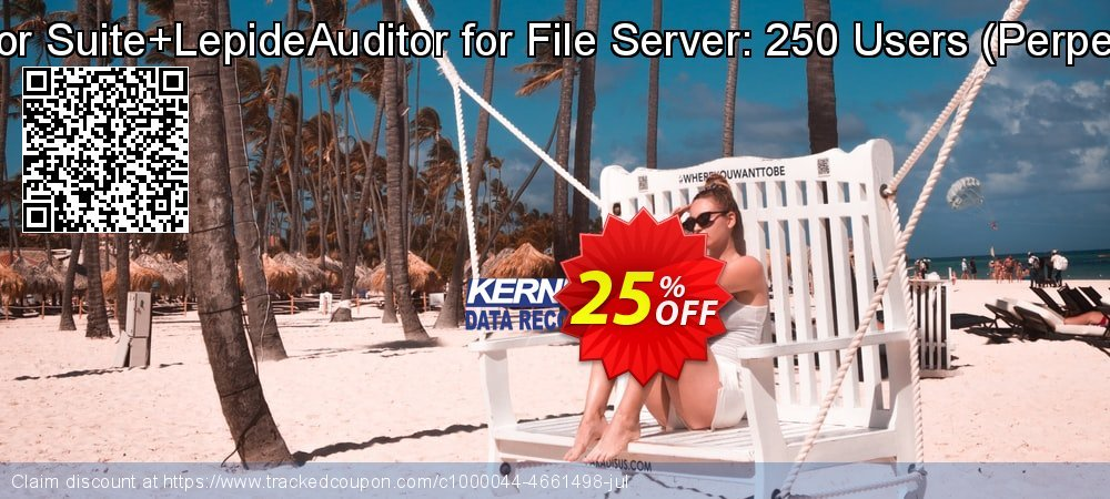 LepideAuditor Suite+LepideAuditor for File Server: 250 Users - Perpetual Edition  coupon on Teacher deals sales