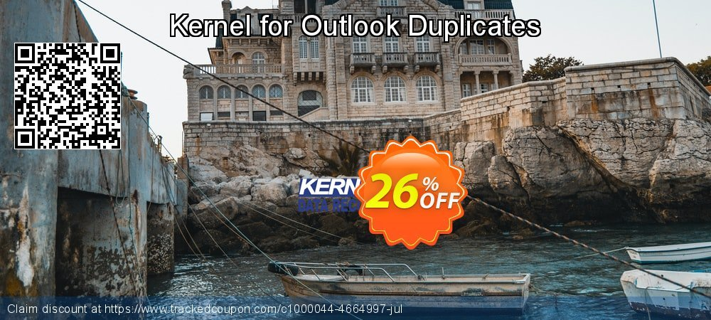 Kernel for Outlook Duplicates coupon on Halloween promotions