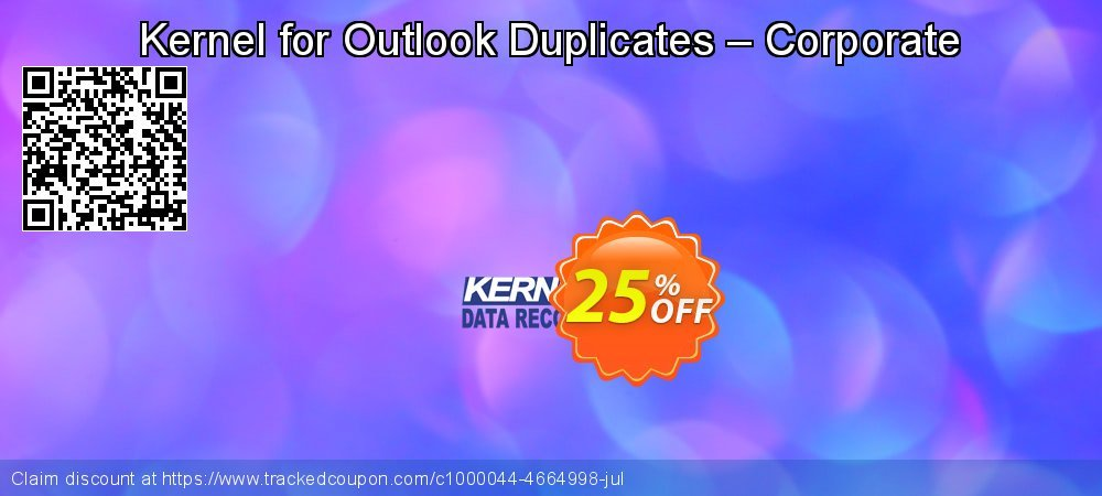 Kernel for Outlook Duplicates – Corporate coupon on Halloween sales