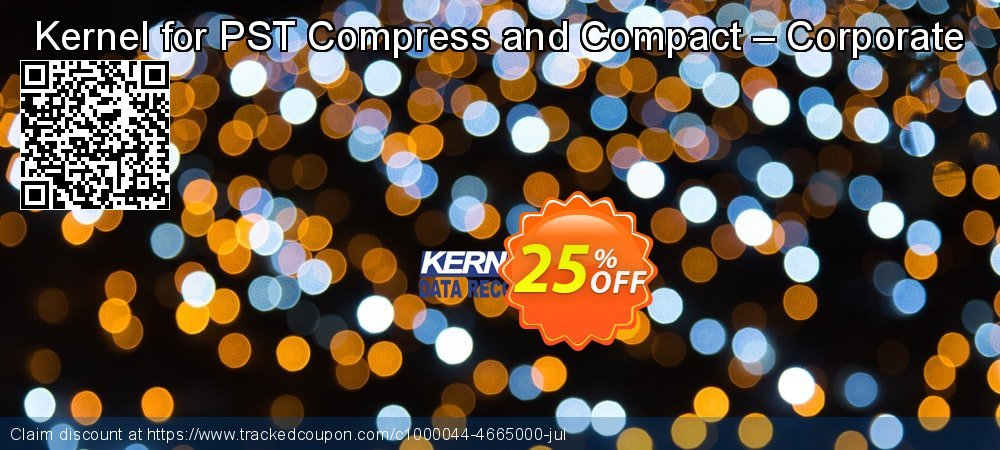 Kernel for PST Compress and Compact – Corporate coupon on Halloween offer