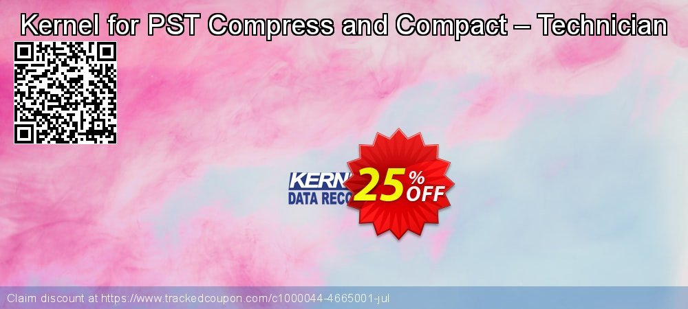Kernel for PST Compress and Compact – Technician coupon on Halloween discount