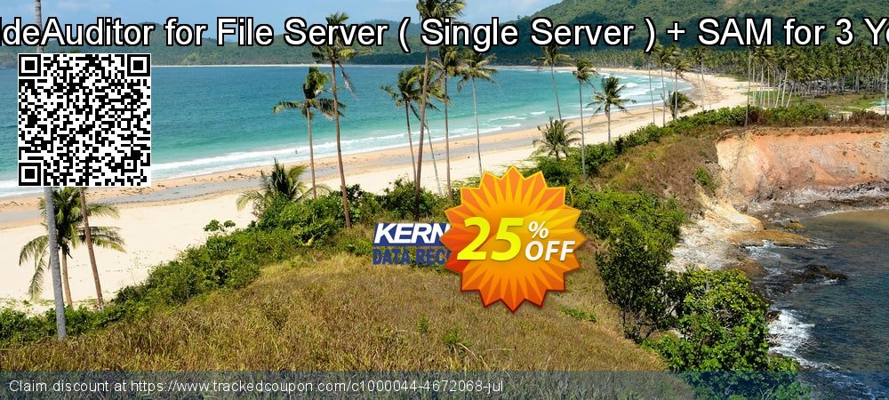 LepideAuditor for File Server -  Single Server  + SAM for 3 Years coupon on Exclusive Student discount offering discount