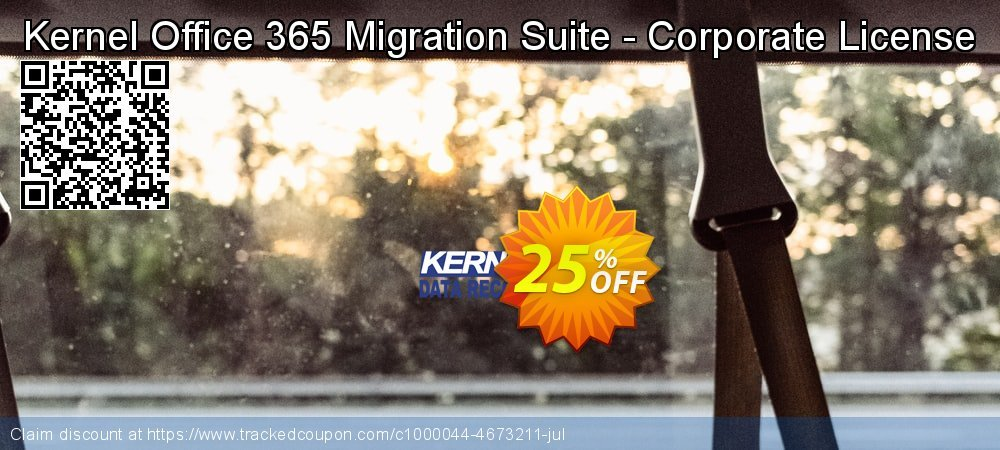 Kernel Office 365 Migration Suite - Corporate License coupon on Halloween offering sales