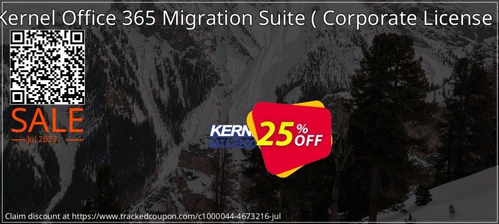 Get 10% OFF Kernel Office 365 Migration Suite ( Corporate License ) offering sales