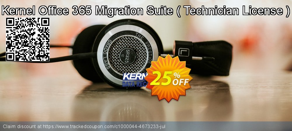 Kernel Office 365 Migration Suite -  Technician License   coupon on Halloween sales