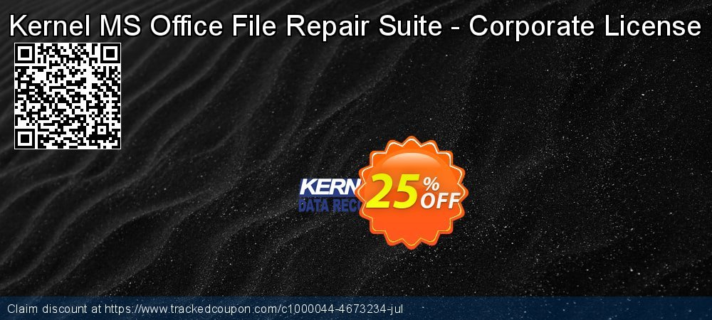 Get 10% OFF Kernel MS Office File Repair Suite - Corporate License offering sales