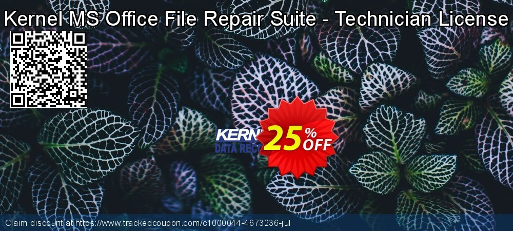 Get 10% OFF Kernel MS Office File Repair Suite - Technician License promo