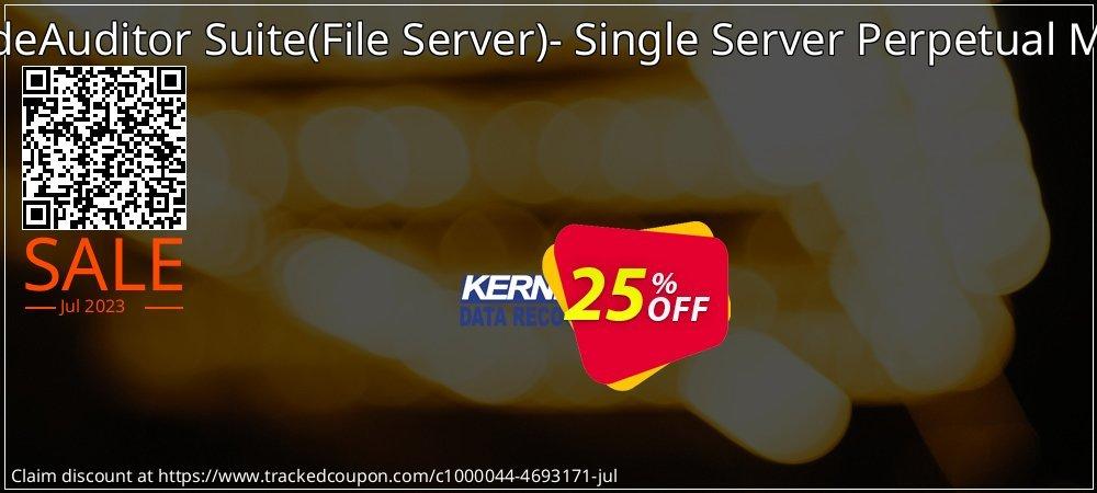 Get 25% OFF LepideAuditor Suite(File Server)- Single Server Perpetual Model offering sales
