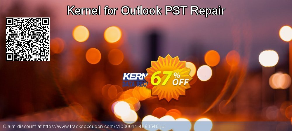 Kernel for Outlook PST Repair coupon on April Fool's Day super sale