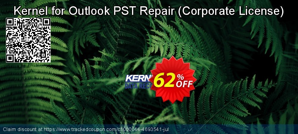 Get 10% OFF Kernel for Outlook PST Repair ( Corporate License ) - Special Offer Price promo sales