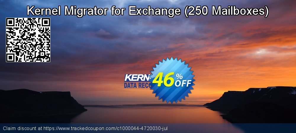 Kernel Migrator for Exchange - 250 Mailboxes  coupon on Halloween super sale