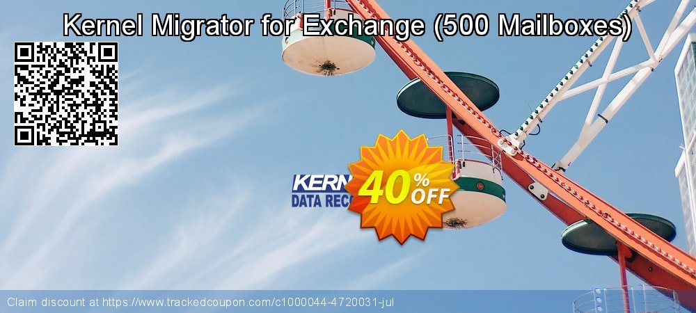 Claim 40% OFF Kernel Migrator for Exchange - 500 Mailboxes Coupon discount February, 2020
