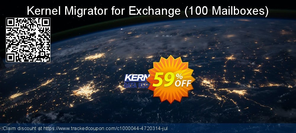 Kernel Migrator for Exchange - 100 Mailboxes  coupon on Halloween offer